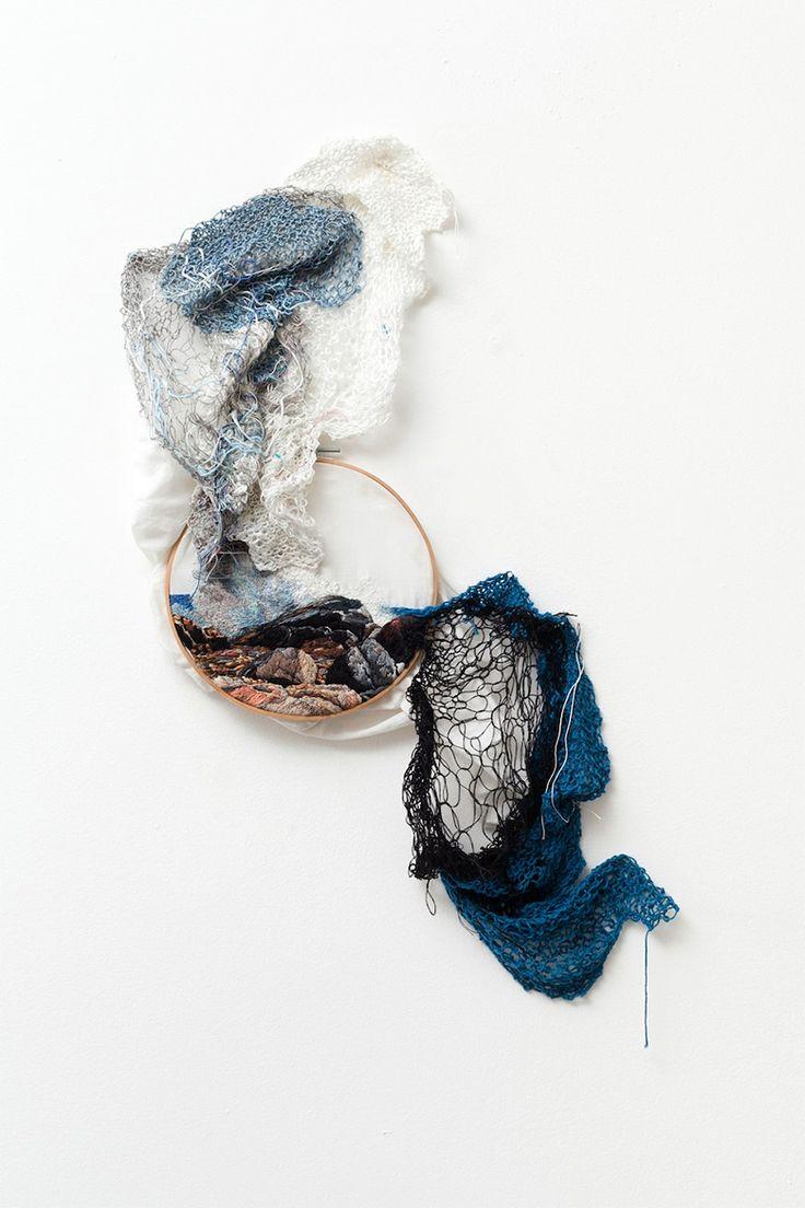Paysages brodés Et Les Plantes textiles par Ana Teresa Barboza Paysages broderie