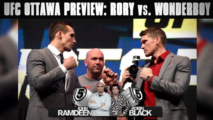 UFC Fight Night Ottawa Preview: MacDonald vs. Thompson & Cerrone vs. Cot...
