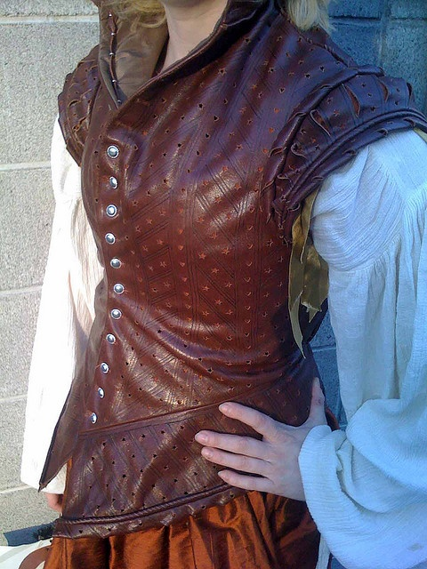 Leather Doublet/Jerkin and research :)