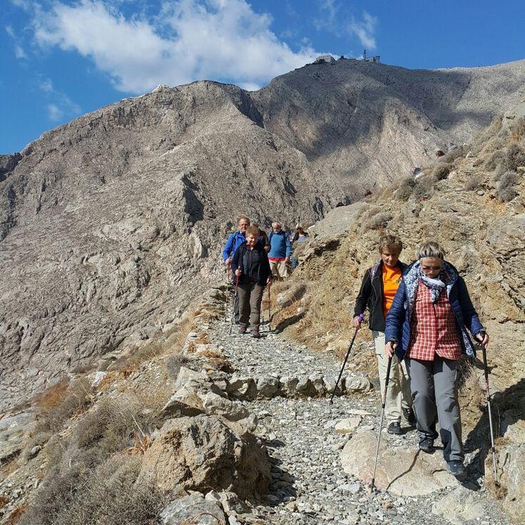 #Kamari to #Perissa hike - nature, archaeologie and beautiful views combined