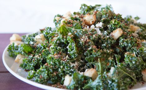 Epicure Healthy Kale Caesar Salad