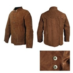 """30"""" Full Length Welding Jacket (Size L) Protect Yourself  $65.64"""
