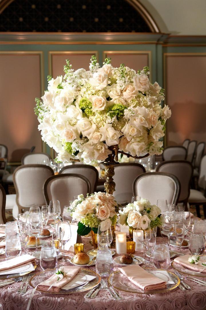 Romantic Tablescape  Photography: Bob & Dawn Davis Photography Read More: http://www.insideweddings.com/weddings/ashley-hebert-and-jp-rosenbaum/438/