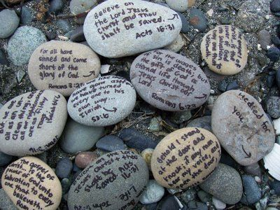 Rock Painting Ideas For Remembrance Day