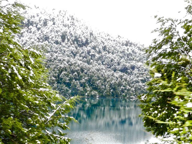 Ruta de los siete lagos, de Argentina a Chile