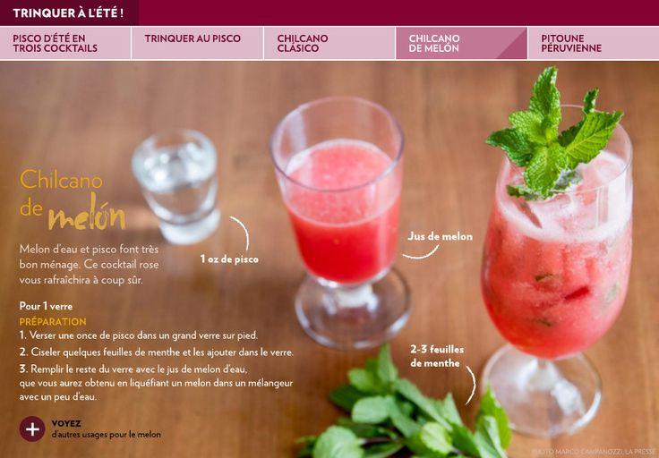 Pisco d'été en trois cocktails - La Presse+