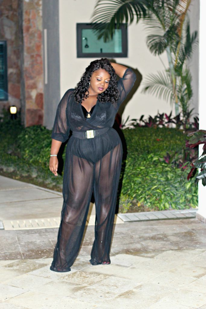 @rue107Curves 107 MINNIE JUMPSUIT, PLUS SIZE FASHION, CONFIDENCE, SHEER COVERUP, PUERTO VALLARTA, MEXICO, KUPURI BEACH CLUB, PUNTA DE MITA, four season resort punta mita, vacation