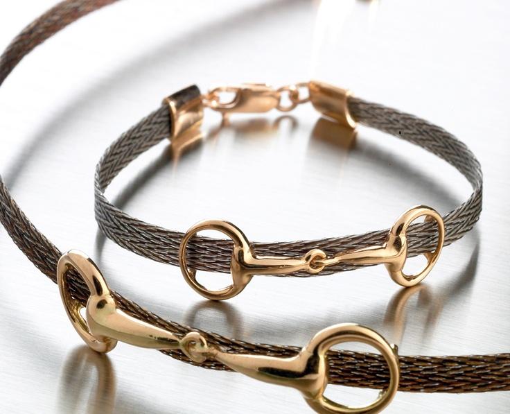 http://nannasalmi.com/ custom made original collection by nannasalmi, Finland Horsehair bracelet