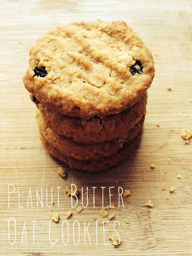 Peanut Butter Oat Cookies   Finding Me Home