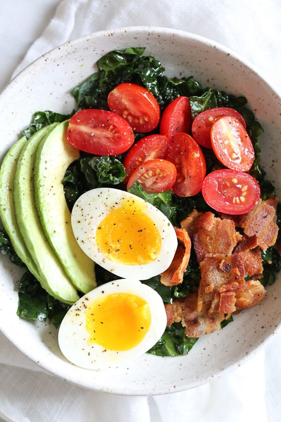 Breakfast BLT Salad | Skinnytaste | Bloglovin'