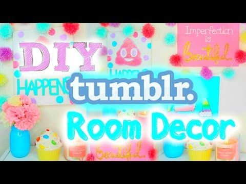 DIY Tumblr Room Decor 2015 | Cute & Easy Wall Art! ♡ - YouTube