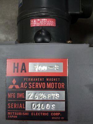 MITSUBISHI AC SERVO MOTOR HA700-S W/FA-CODER OSE5K-6-12-108