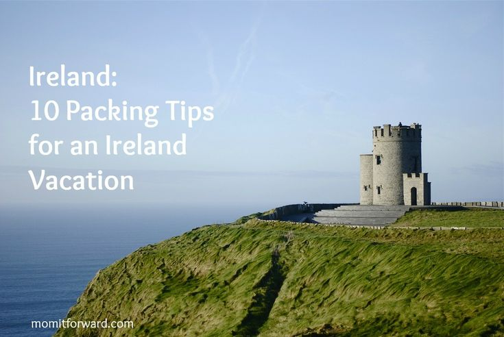 Ireland Travel: 10 Packing Tips for an Ireland Vacation. Good to know for impending badger den trips ;)
