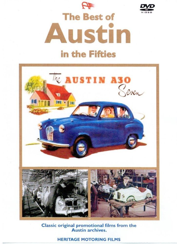 22 best veteran and vintage cars images on pinterest antique cars best of austin in the fifties dvd 88 mins approx a35 a40 fandeluxe Image collections