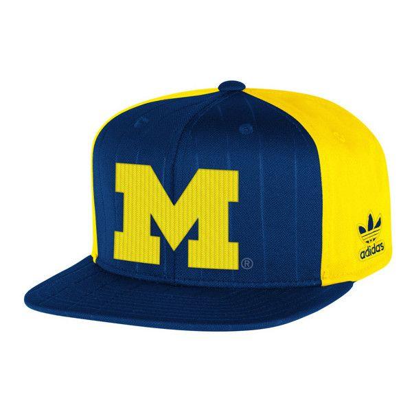 western michigan university baseball cap state caps navy yellow pinstripe of fitted hat
