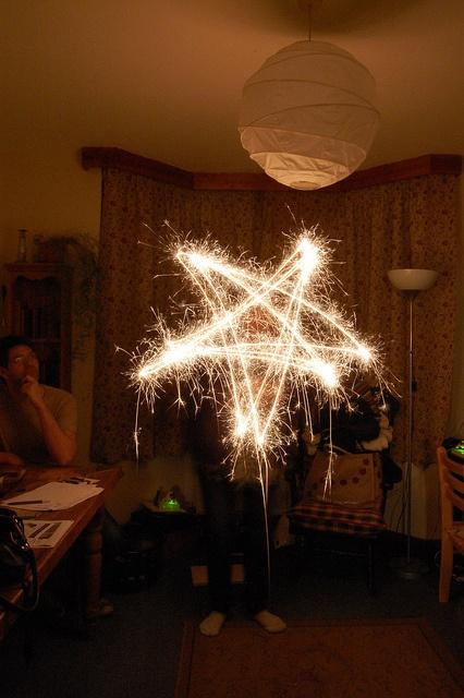 Movement #sparkler