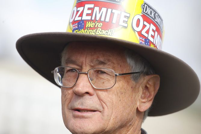 Dick Smith is a legend