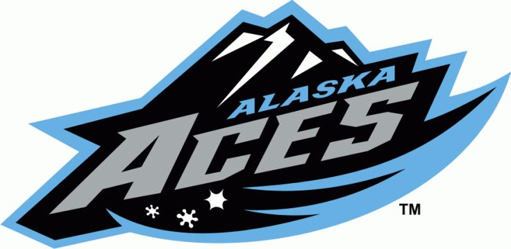Alaska Aces Wordmark Logo (2004) -
