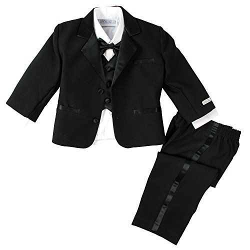 Spring Notion Baby Boys' Black Modern Tuxedo no Tail 5 Black Spring Notion http://smile.amazon.com/dp/B00M43P1Y6/ref=cm_sw_r_pi_dp_OnLhwb09FW7XD