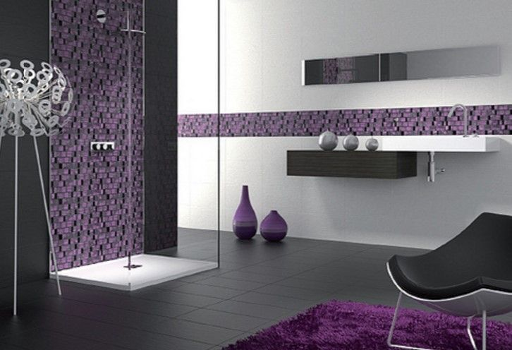 17 Best Ideas About Purple Bathroom Decorations On