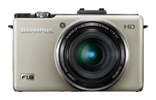 Olympus XZ-1 Digital Camera - Silver (10MP, 4x i.Zuiko Wide Optical Zoom) 3.0 inch LCD *** Find out more about the great product at the image link.