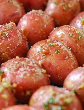 Grilled Red Bliss Potatoes-- a great side or appetizer