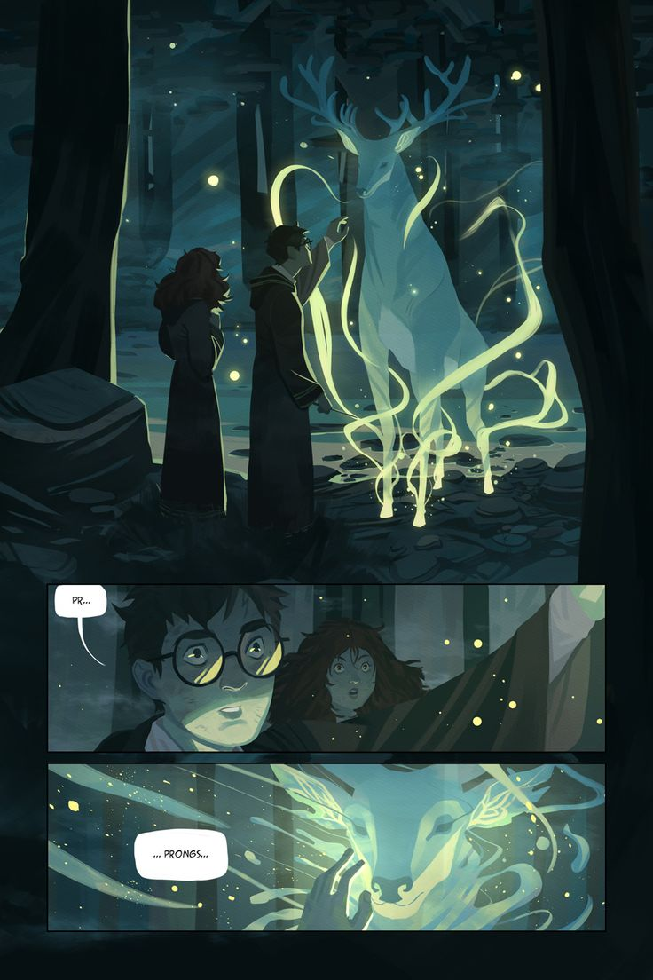 Scenes from the Harry Potter Series Get Recreated in Gorgeous Comic Book Art
