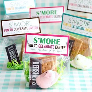 Smore fun to share a free printable with YOU Hop over to the blog and have fun making these cute Eater Smore Bags
