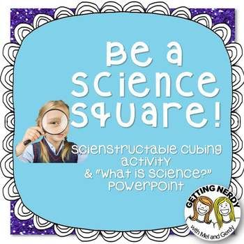 A great FREE way to start the discussion about what IS and what ISN'T science in your classroom! Handouts and animated PowerPoint included. #gettingnerdy