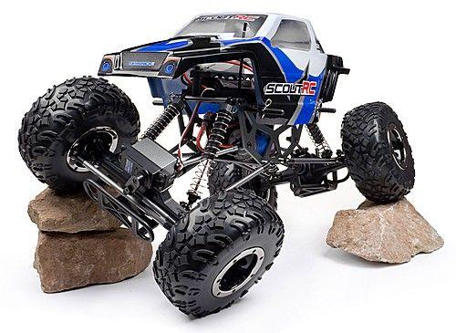 Maverick Scout RC 4WD 2.4Ghz RTR Rock Crawler - RC Crawler - RC Bil