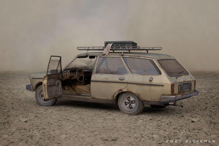 ArtStation - Lost in the Dust, Rory Björkman