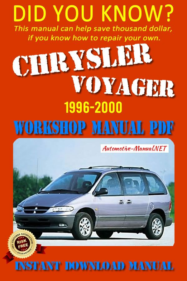 Download Chrysler Voyager 1996 2000 Workshop Manual Pdf Chrysler Voyager Chrysler Manual