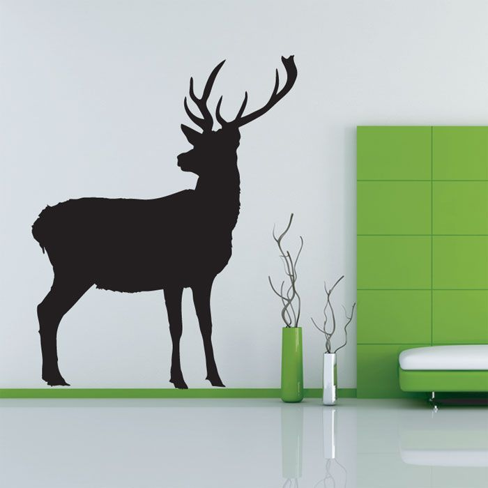 Home Gallery Animal Wall Stickers Deer Wall Sticker Part 74