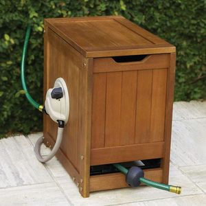 Self-Winding Garden Hose Reel - Powered By Water!