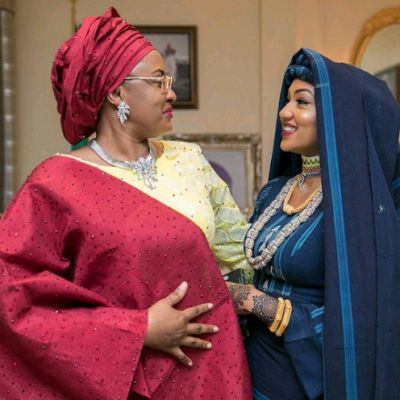 President Buhari's daughters at Zahra and Ahmed's traditional Kamu (Photos) | Nigerian: Breaking News In Nigeria | Laila's Blog