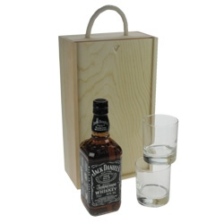 Jack Daniels Gift Set with Whisky Glasses