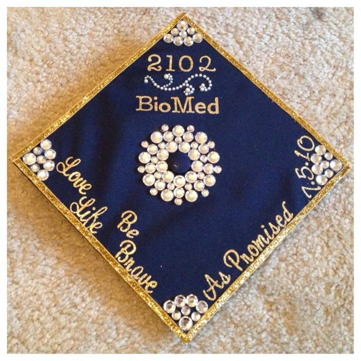 Graduation cap #college #memories #neverforget