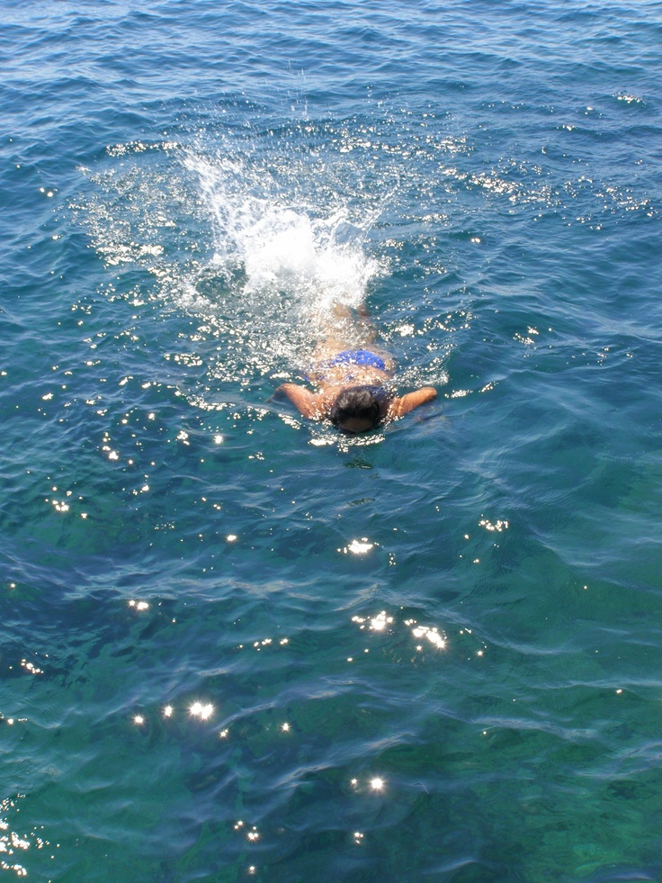 Mergulho - mar sul da Itália