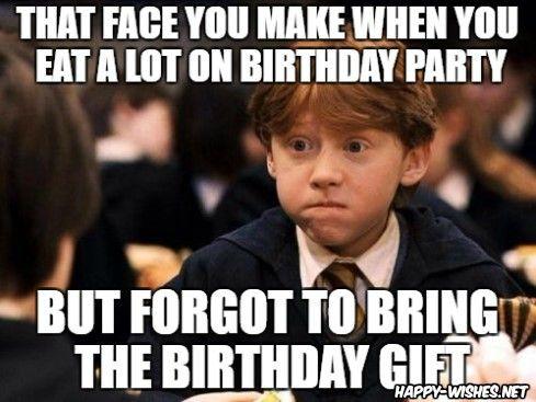 Happy Birthday Harry Potter Meme Harrypottermemes Harrypotterbirthdaymeme Harrypotte Harry Potter Birthday Meme Funny Harry Potter Jokes Harry Potter Funny