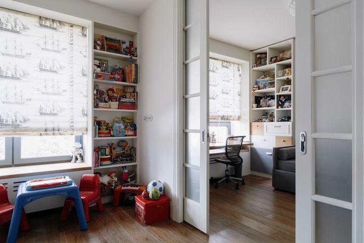 Четырёкомнатная квартира в американском стиле для семьи сдвумя детьми. Изображение № 35.
