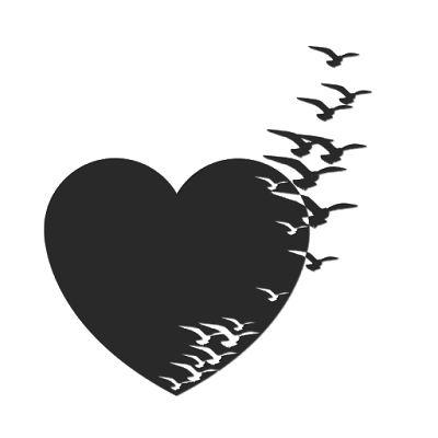 fondo negro de corazon #corazones #bonitos #lindos #venezuela #colombia #usa #corazon