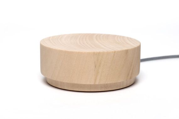 Orée Pebble 2 by oreeartisans on Etsy -- wireless charger and speaker