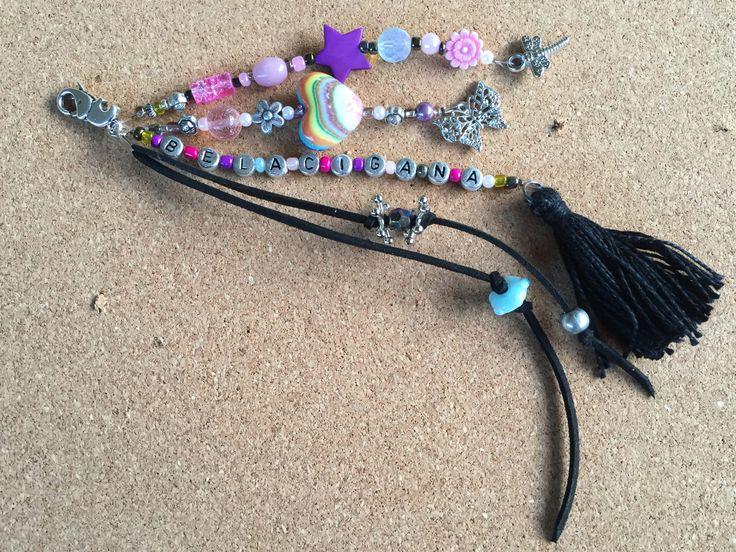 boho tassel key chain /key chain boho / bohemian jewellery/key chain boho / gypsy beach bag charm /gift key charm/ key chain boho tassel by BelaCiganaBags on Etsy