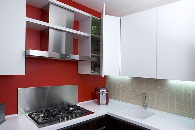 Alter / Cucina - Villetta Arcore    Dettaglio pensile angolare