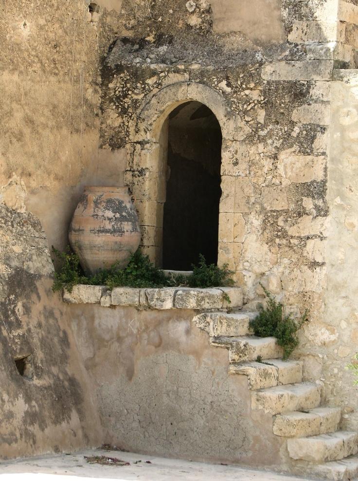 Moni Oditrias ; Crete ; Greece