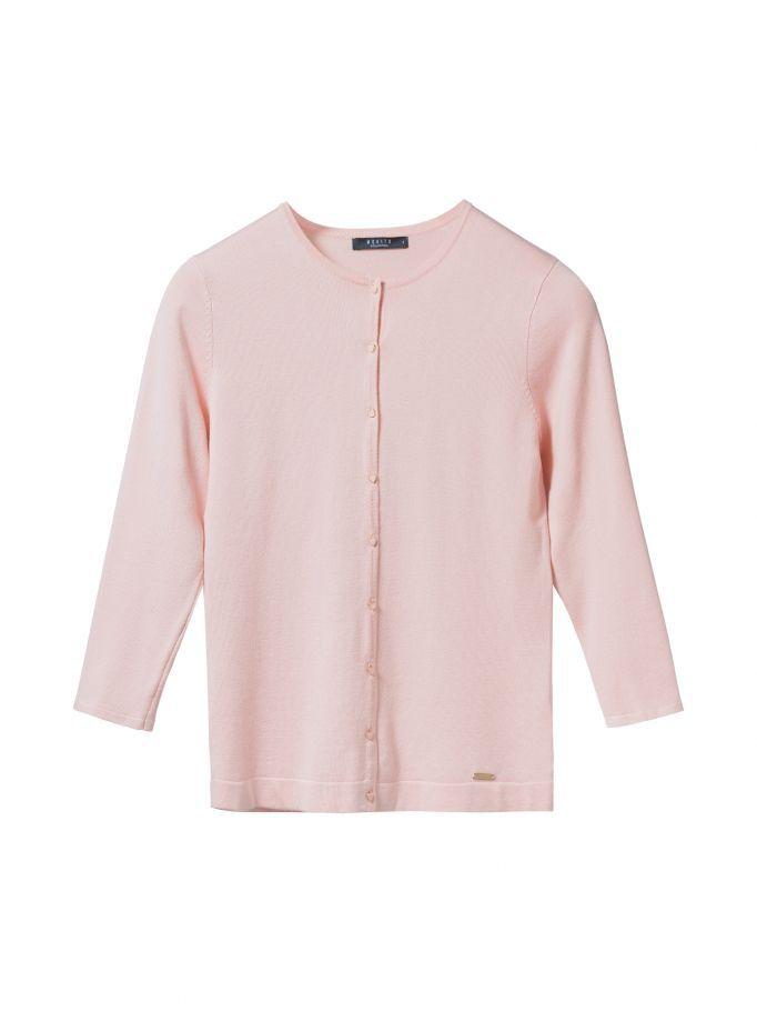 Damski dopasowany sweter LITTLE PRINCESS, MOHITO, RF554-03X