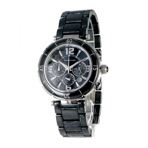 http://unemontretendance.com/1205-montre-femme-acier-et-ceramique-noire-chronos-yves-bertelin.html