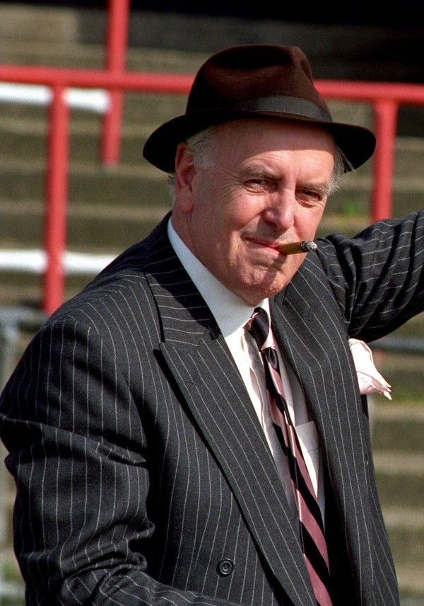 George Cole as Arthur Daley RIP.