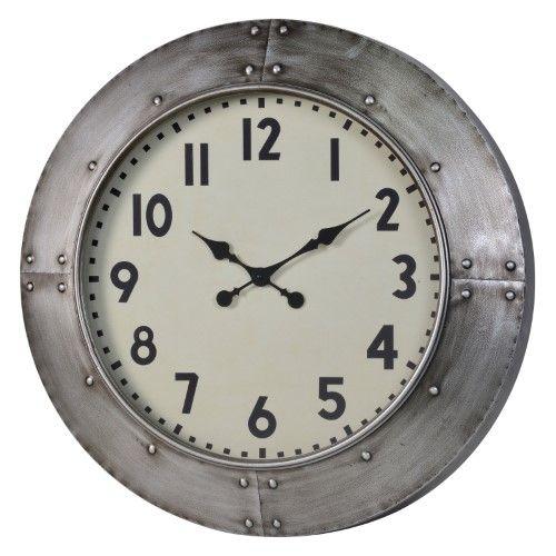 Cooper Classics Garrison Oversized Wall Clock