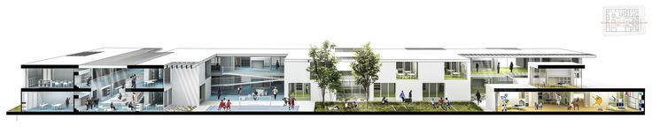 Galería - FP Arquitectura, cuarto lugar en concurso Ambientes de Aprendizaje del siglo XXI: Colegio Pradera El Volcán - 20